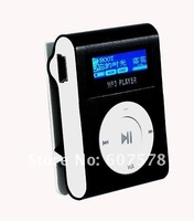 MP3-плеер BLACK 2GB Metal Clip MP3 Player FM Radio LCD Screen