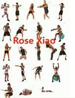 Товары для спорта Drop shipping 1set/lot Latex Resistance band resistance tubes yoga band Exercise band for Yoga