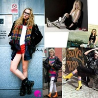 New winter popular boots the knight boots European and American patent leather female footwear shoes