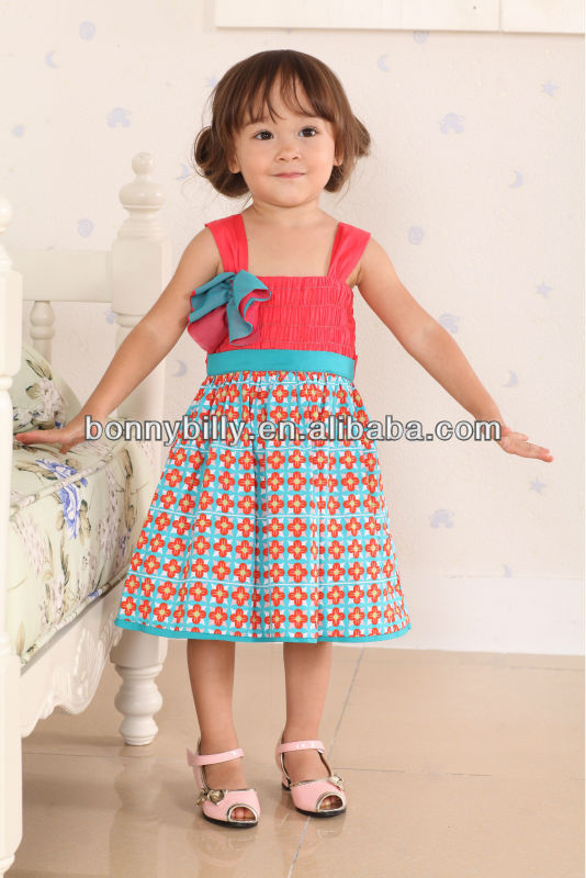 hot sale!! baby dress baby clothes of girl 1 year old
