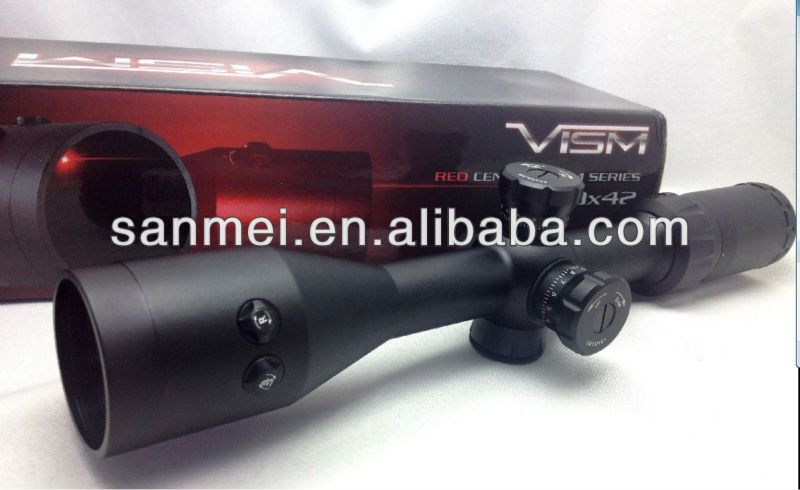 with red laser sights riflescope hunting 3 - 9 X42 bushnell metal tube waterproof shockproof