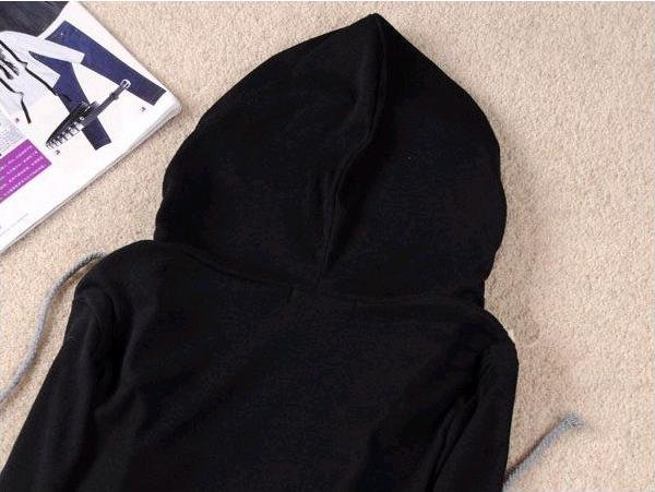 Hot sale! Free shipping! 2012 new fashion casual hooded false-two pieces t shirt W237581713