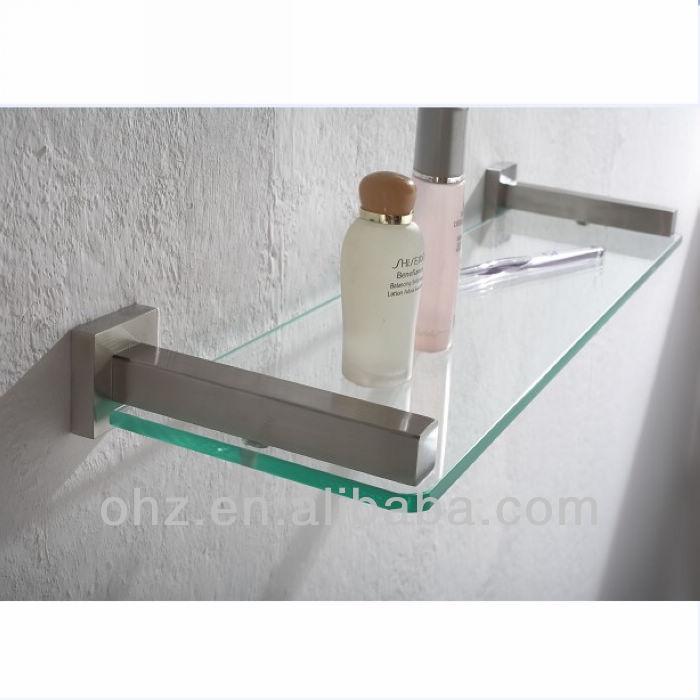 뜨거운 판매! 럭셔리& 개성을 벽 마운트 욕실 액세서리 유리 선반 ...