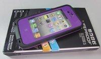 Чехол для для мобильных телефонов ship BEST quality ORIGINAL material 2nd Gen Life Waterproof Shockproof Dirtproof Cover Case for iphone 4G/4S