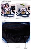 Маленькая сумочка 2013 new summer hit color cute mini retro owl female bag shoulder diagonal packet