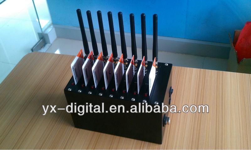 8 port USB GSM modem, sending bulk sms voip adapter