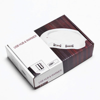 coffeetea Кубок теплые нагреватель pad и 4 порта usb полной скорости концентратор #8423