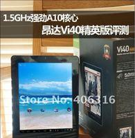 Планшетный ПК courier shipping! Onda Vi40 Elite 9.7 Inch Android4.0 Tablet PC IPS Capacitive AllwinnerA10 1.5G 1GB 8GB