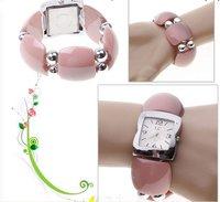 Наручные часы 15 off per $150 order Fashion LC Numerals & Strips Hour Marks Quartz Wrist Watch for women 1658