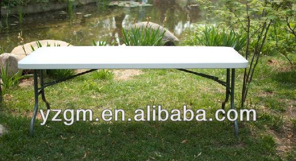 180cm 흰색 저렴한 플라스틱 블로우 금형 접이식 테이블 sale(hdpe ...