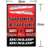 Motorcycle Car Sticker Combination LOGO FOR SUZUKI