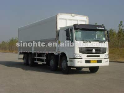HOWO 30 ton cargo van truck
