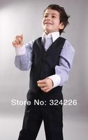 New Style Boys' Attire complete designer tuxedos boy wedding suit groom wear formal dress