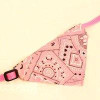 Adjustable Cute Pet Dog Scarf Collar Puppy Cat Bandana Neckerchief 2 Sizes A1292