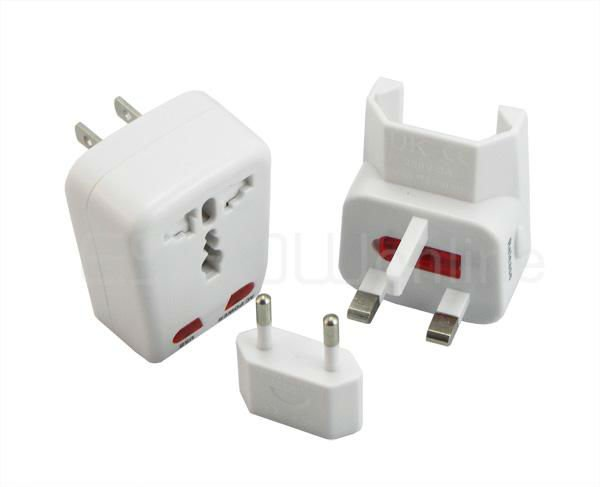 New Universal World Travel Adapter with USB Port Power Converter K0122B Eshow
