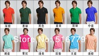 Мужская футболка Brand Men's T-Shirt 100%Cotton Polo Shirt Men'S 100% High Quality M/L/XL/XXL