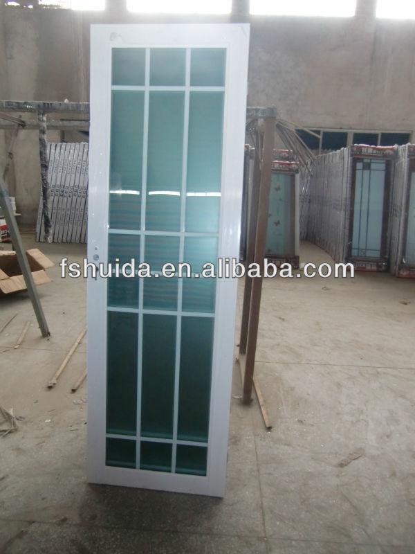 Gabinete Para Baño Una Puerta Inval:bonito diseño de vidrio de aluminio de la puerta para cuarto de baño
