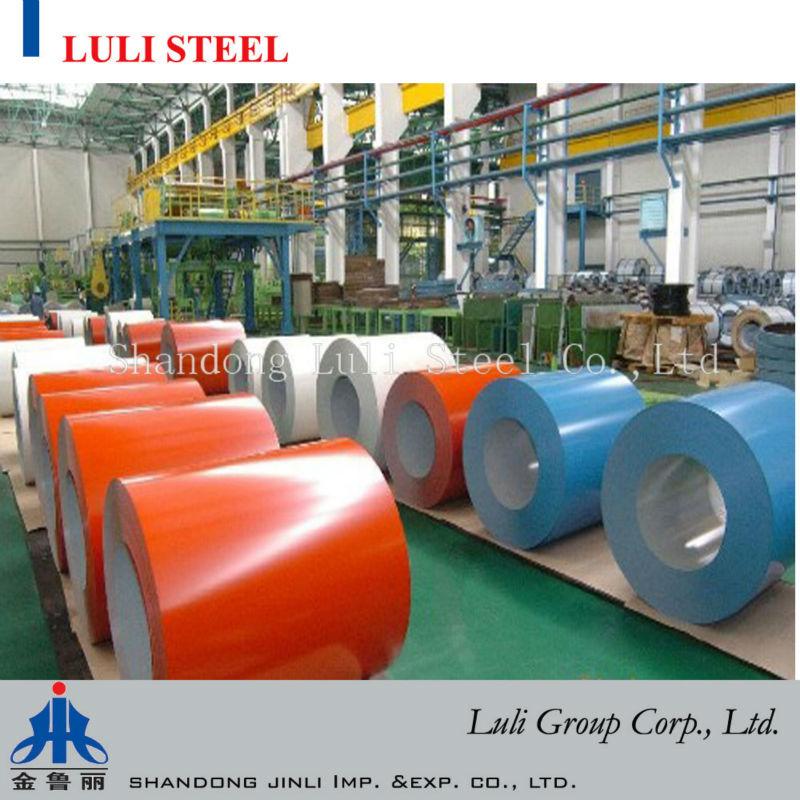 PPGI/Prepainted Galvanized Steel Coil/Color coated steel coil