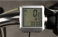 Датчик скорости для велосипеда 100 PC/Lot PM-650 wire cycle speedometer, cycle computer, bicycle odometer, bicycle computer, with backlight waterproof