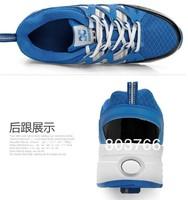 Роликовые коньки new Multi-function Heelys ROLLER SHOES Roller Skate Boys Girls Shoes 3 Colors colored box packing
