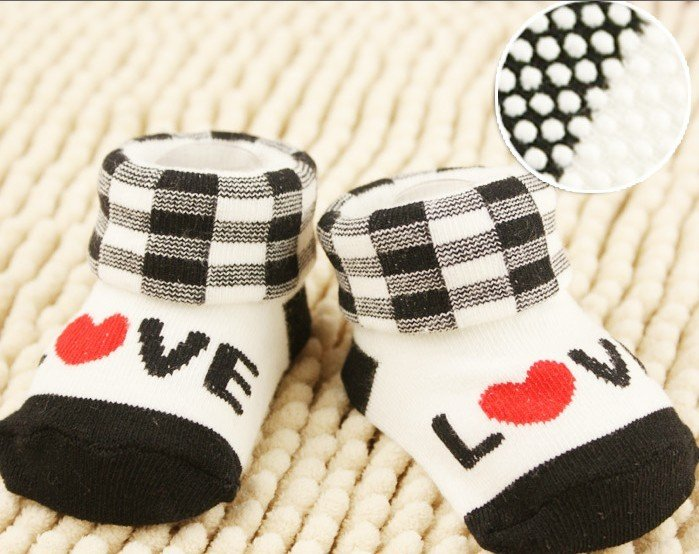 Free Shipping Good Quality Lovely Baby Carton Stock Kids Soft Shoes for 0-10 month Inflant Footwear  Baby Gift Model Mixed