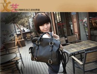 Сумка 2010 new style women handbag bags tote blue PU Leather white/black/brown/yellow