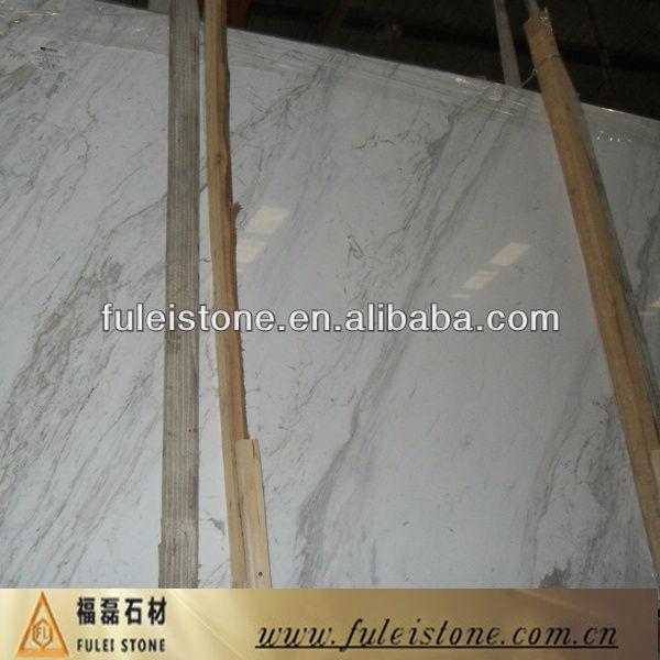 Natural Volakas White marble flooring design tiles