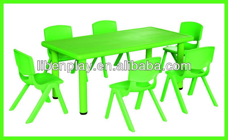 mesa jardim quadrada:mesa para o jardim de infância, Mesa quadrada, Meia lua mesa
