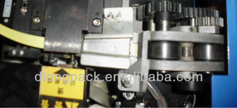 MS-104 high table semi auto strapping machine