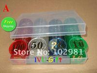 Фишки для покера OEM , 160pcs 2012051001