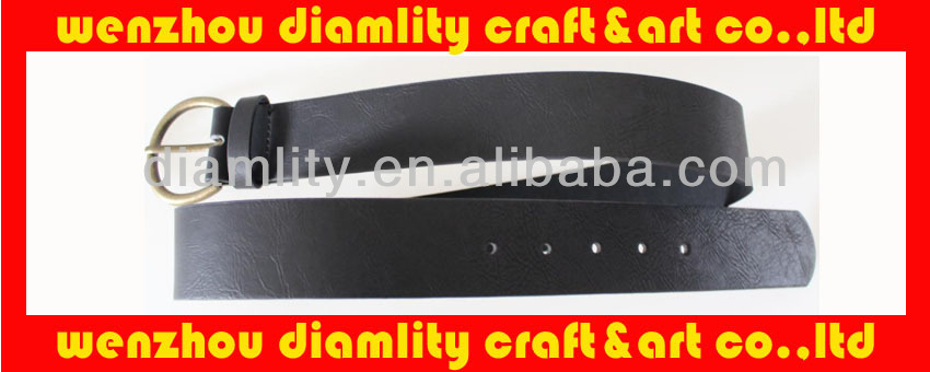 2014 new fashion lady belt/women belt with metal decoration