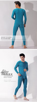 Мужское термобелье ASIANBUM New Men's cotton thermal set Top bottom underwear Basic long johns 4 Colors