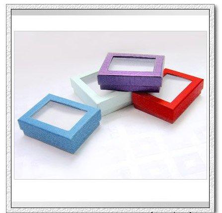 Cajas de carton con tapa transparente