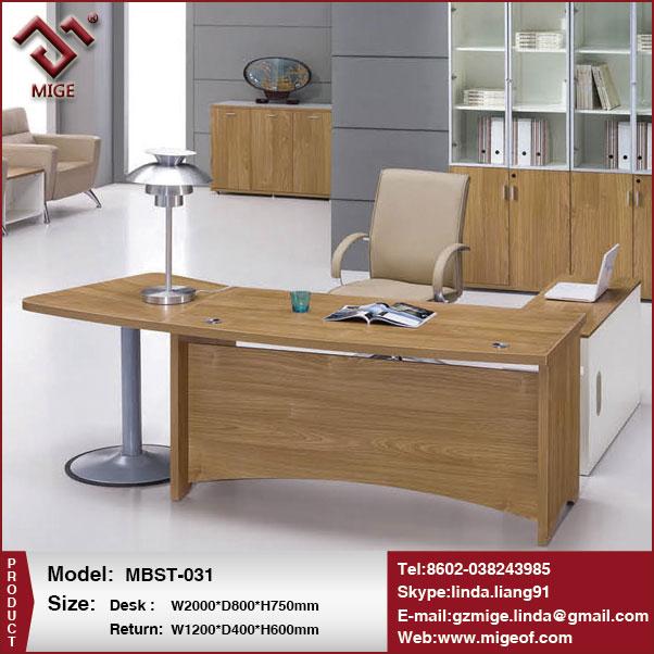 Escritorio ejecutivo moderno mobiliario de oficina de lujo mesas ...