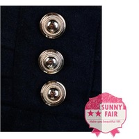 Женские шорты Sava Saga Decorative Buttons Woolen Crimping Thicken Mid-Waist Short Boot Shorts