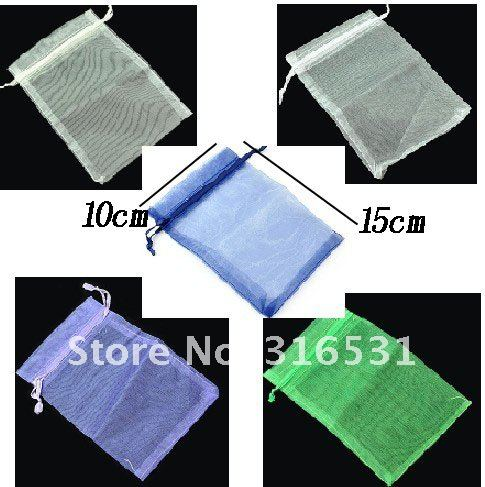 Customer First,gift packaging bags,Size:15x10cm,500PCS/LOT,Gauze Cloth Packing Pouches,mix style&color wholesale,Free shipping!