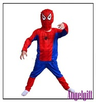 Рекламный костюм ship! Cosplay halloween costume children's clothes stage costume halloween products clothing Spider-Man Npc001