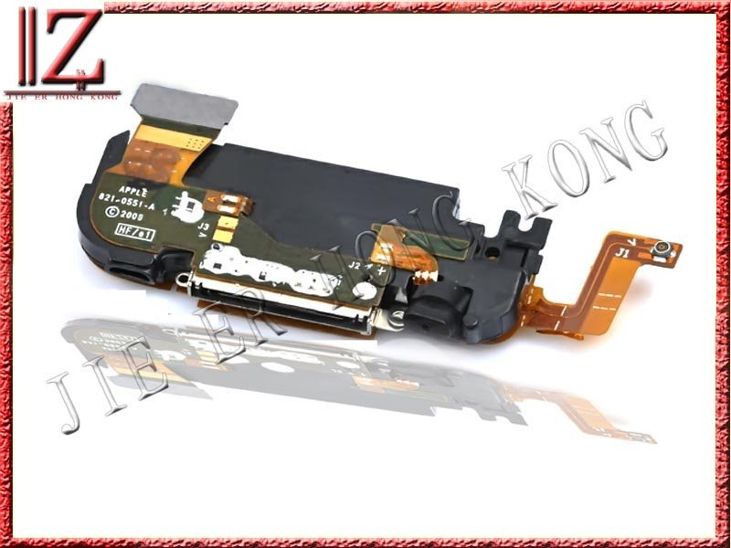 for iphone 3GS dock connector flex cable original Black and white the same price 20pic//lot 3-7