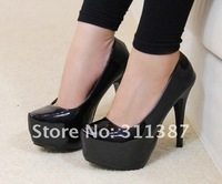 Free shipping,2011 new  suede,PU or Patent Leather sexy fashion high heels shoes,womens  Pumps SNX012043