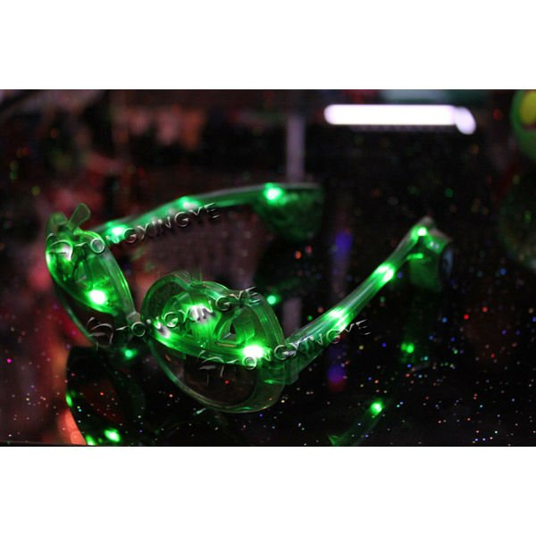 Led glass LED Pumpkin Glasses For Halloween Decoration