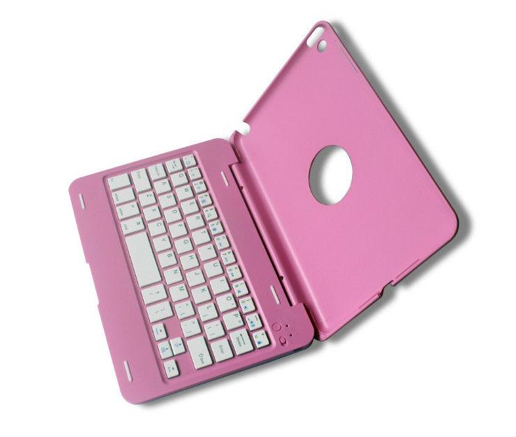 Bluetooth Wireless Keyboard + Case Cover for iPad Mini