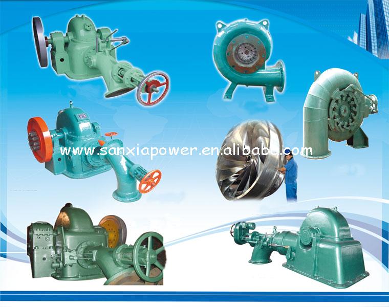 Made In China Of High Power Mini Kaplan Turbine