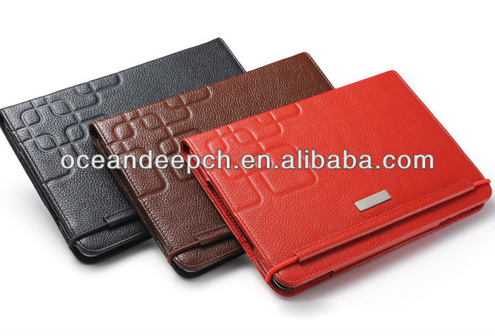 Factory price wholesale stand leather case for ipad mini 2 case