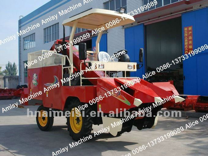 2012 Newest mini corn maize combine harvester machine 0086-13733199089