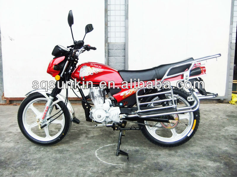 Two alloy wheels motorcycle