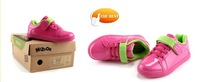 детская обувь Children shoes 2012 autumn female light waterproof baby shoes sport shoes female child Искусственная кожа