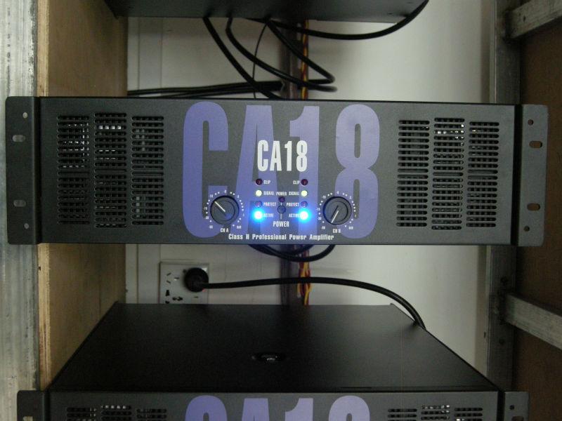 Ca18 аудио ламповый усилитель