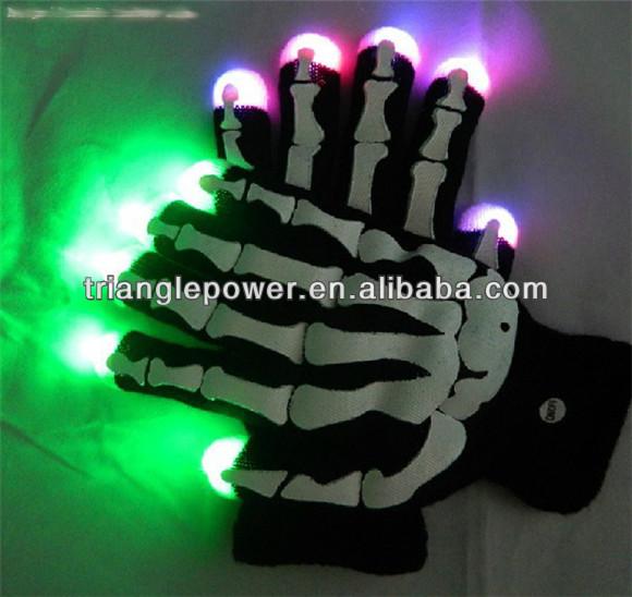 Magic Black Light Up Gloves ,Led Finger Light Gloves,Led Gloves