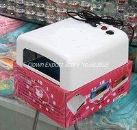Free Shipping    F12090CL    36W Art UV Gel Nail Curing Nail Dryer UV Lamp Polish Dryer uv lamp Light 110V 220V