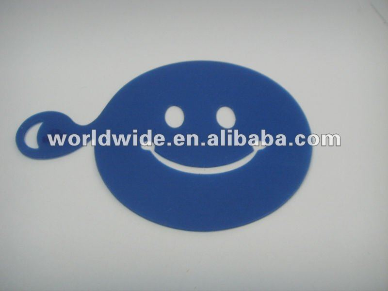 Promotion Various Design Plastic Coffee Stencil